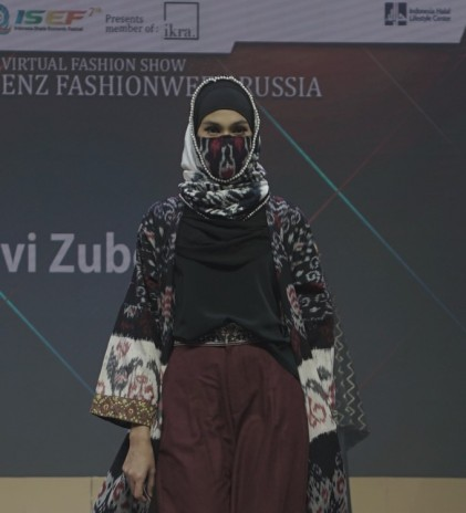Desainer IKRA Tampil di Mercedes-Benz Fashion Week Russia