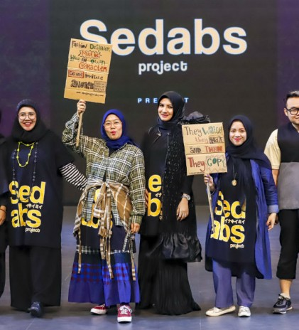 Fashion with a cause, Interim Clothing & Sedabs Project