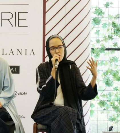 Franka Soeria Naikkan Level Modest Fashion Indonesia melalui #Markamarie