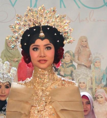 Miarosa; Wujudkan Gaun Pengantin Impian Muslimah