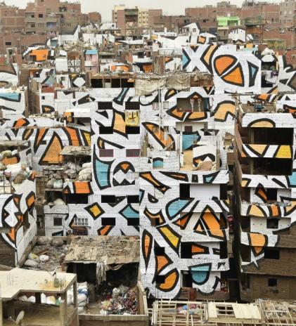 Persepsi dalam 'Calligraffiti' El Seed
