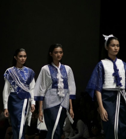 Rika Mulle at IFW 2017: Traditional Tasikmalaya Embroidery in Modern Cuts