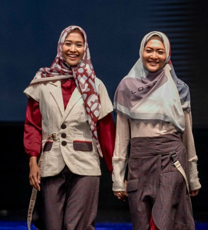 Semarak Rona Modest Wear Jogja Fashion Week 2018