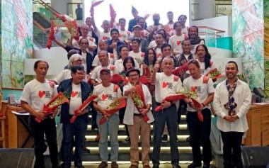45 Perupa Memaknai Indonesia; Pameran Seni Rupa Pertama di Plaza Indonesia