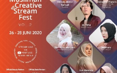 Muslimah Creative Stream Fest Vol 2 2020: New Normal Is Normal