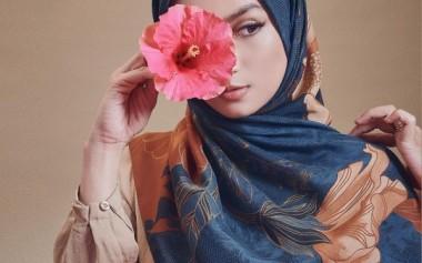 Bunga Raya/Kembang Sepatu Jadi Motif Koleksi Kami 'Minira'