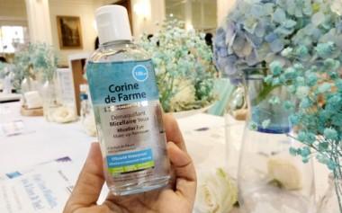 Corine de Farme Eye Micellar Water Untuk Bersihkan Make-Up Mata dengan Sempurna
