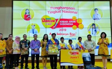 Dancow Gelar Kompetisi Nasional 'Kreasi Anak Indonesia'