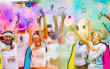 Ekspresikan Cinta dalam Warna Warni The Color Run 2019!