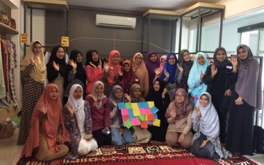 Gathering & Charity Event at Hijraheart Indonesia
