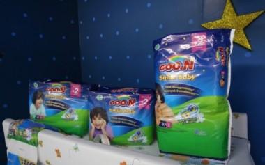 Goon Merilis Popok Bayi Bersertifikat Halal