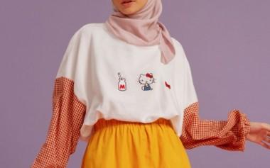 HelloKitty x HijabChic yang Ceria, Imut dan Casual