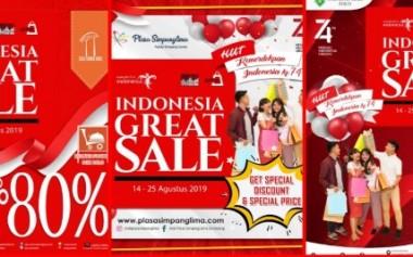 Indonesia Great Sale Dimulai!