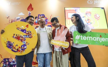 Jenius Rayakan Ulang Tahun Ketiga dan Kolaborasi bersama #TemanJenius