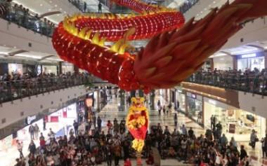 Juara Dunia Barongsai dan Akrobatik Kembali Tampil di Pondok Indah Mall