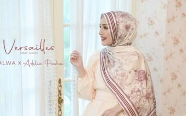Koleksi Eksklusif Halwa Scarf x Adelia Pasha