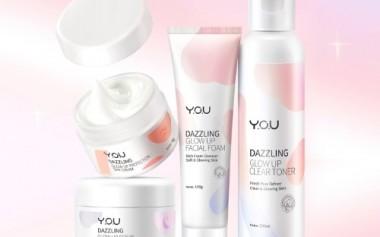 Kulit Wajah Glowing dengan Y.O.U Dazzling Series