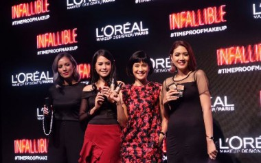 Longwear, #timeproof makeup with Loreal Paris Infallible
