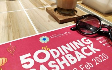 Makan-Makan Super Hemat di Kota Kasablanka dengan 50% Dining Cashback!