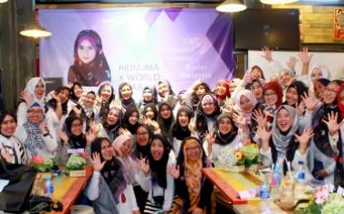 'Merayakan' Hijab bersama Aidijuma x World Hijab Day
