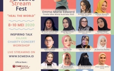 Muslimah Creative Stream Fest 2020: HEAL THE WORLD