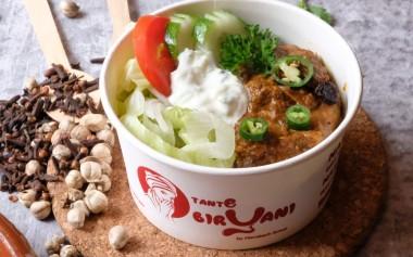 Nasi Biryani Bowl & Bento Hadir di Kedai Tante Biryani