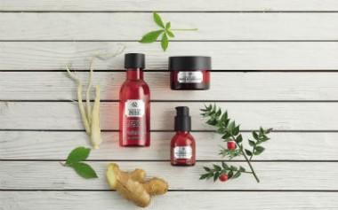 Rangkaian Perawatan Untuk Kekuatan dan Kekencangan Kulit dari The Body Shop
