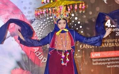 Santoon Memeriahkan Festival Payung di Candi Prambanan