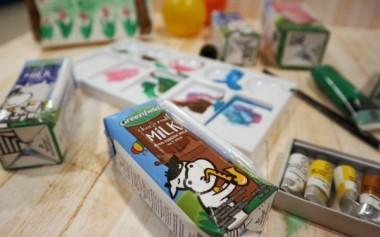 Susu UHT Greenfields dalam Kemasan Kecil Tetraprism yang Praktis
