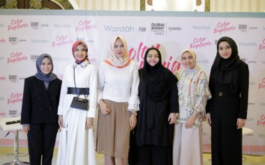 Wardah Menjadi Official Make Up Partner Dubai Modest Fashion Week