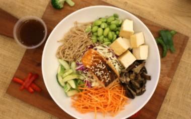 Warm Protein Bowl, Salad plus Protein Tinggi dari SaladStop!