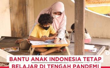 Yuk Ikut Donasi Dukung PJJ Anak-anak