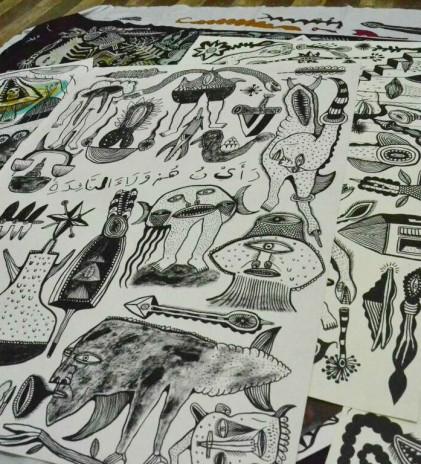 Arwin Hidayat dan Seni Lukis Batik