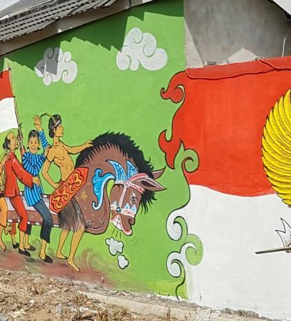 Dinding-Dinding Mural Baru di Yogyakarta, Wujudkan Kota Humanis