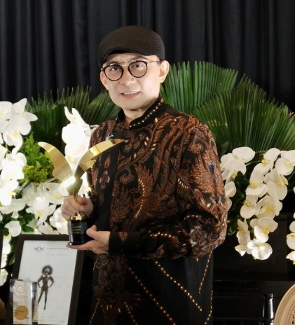 Rinaldy A. Yunardi dan Inspirasi dari World of Wearable Art 2019