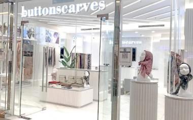 Cantik & Modern! Butik Buttonscarves di Kuala Lumpur