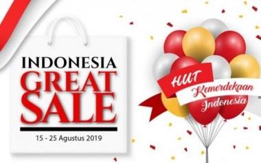 Indonesia Great Sale Siap Digelar, Serempak di Seluruh Indonesia