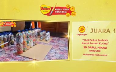 Inovasi Anak Tak Kenal Jarak dalam DANCOW Kreasi Anak Indonesia 2020