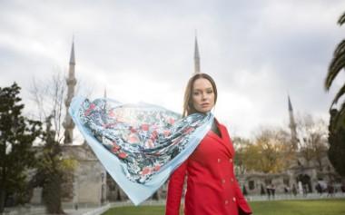 Keindahan Corak Indonesia - Turki pada Produk Scarf Yazma Türkiye