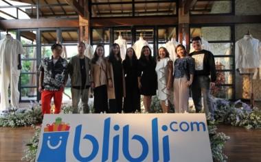 Kolaborasi Blibli dengan 5 Desainer untuk Jakarta Fashion Week 2019