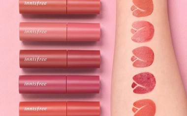 My Lips But (So Much) Better In Innisfree Vivid Cotton Ink