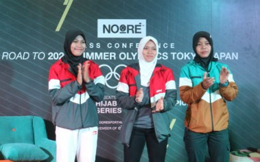 Noore Dukung Atlet Indonesia dengan 'Hijab for the Champion'