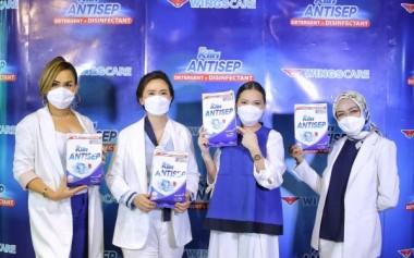 Proteksi Tambahan dari Virus dengan Deterjen yang Mengandung Disinfektan