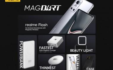 realme Meluncurkan MagDart, Pengisian Nirkabel Magnetik Tercepat di Dunia