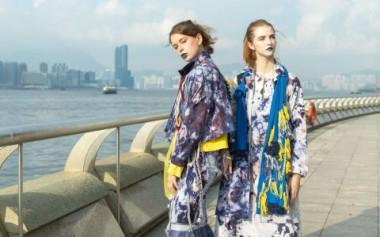 Risa Maharani dengan Koleksi Ikatten Tampil di Center Stage Hongkong