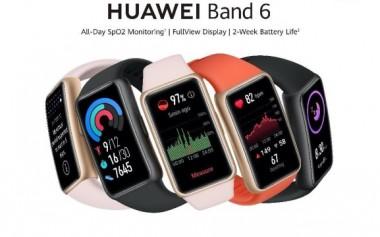 Semua Fitur Lengkap Smartband ada di Huawei Band 6