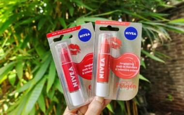 Stay Happy with Adorable NIVEA Lip Crayon!