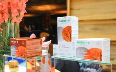 Super Antioksidan Jadi Keunggulan Perawatan Anti-Aging Natur-E Face Series