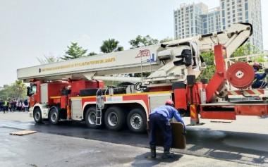 Superblok Kota Kasablanka Gelar Simulasi dan Pelatihan Hadapi Kebakaran