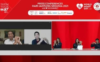 Use HeART to Connect, Indonesia Rayakan Hari Jantung Sedunia